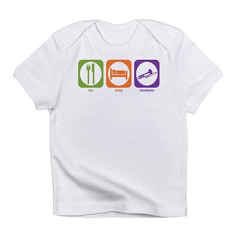 Eat Sleep Trombone Infant T-Shirt