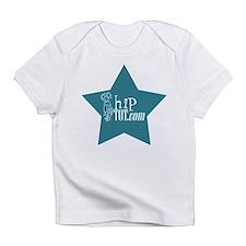 hipTOT.com teal star onesie Infant T-Shirt