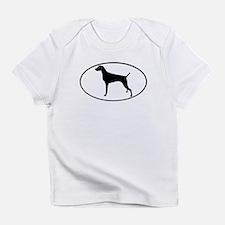 Weimaraner Creeper Infant T-Shirt