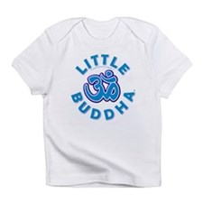 Little Buddha Yoga Symbol Baby Rompers Blue Infant