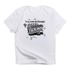 Still Plays With Blocks Infant T-Shirt