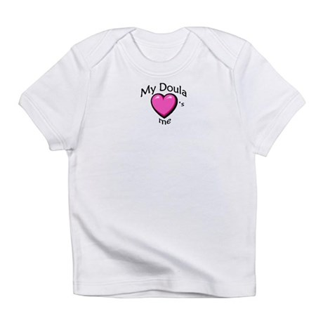 Creeper - doula love Infant T-Shirt