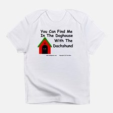 You Can Find Me In the Doghouse Creeper Infant T-S