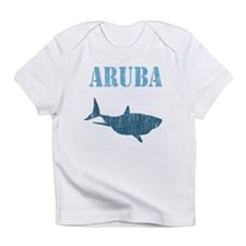 Retro Aruba Shark Creeper Infant T-Shirt