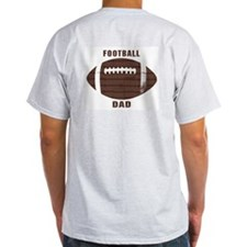 Football Dad 2 Sided T-Shirt