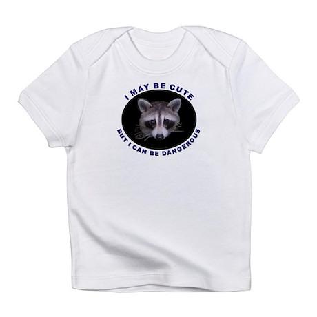 Raccoon Cute But Dangerous Creeper Infant T-Shirt