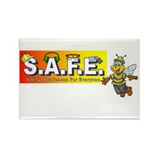Cute Accidents Rectangle Magnet