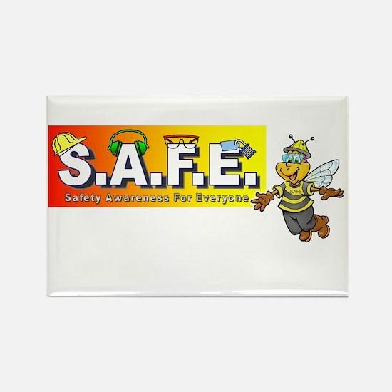 Unique Safe Rectangle Magnet