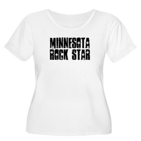 Minnesota Rock Star Women's Plus Size Scoop Neck T