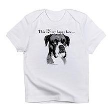 Boxer Happy Face Infant T-Shirt