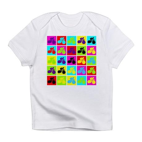 Pop Art Cyclist Infant T-Shirt