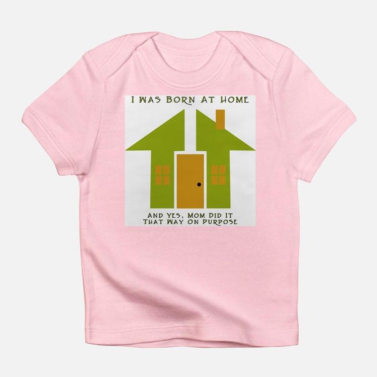Homebirth on Purpose 2 Creeper Infant T-Shirt