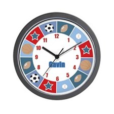 GAVIN All Stars Sports Customized Wall Clock