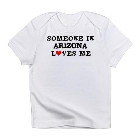 Someone in Arizona Creeper Infant T-Shirt