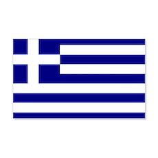 Greece Flag 20x12 Wall Peel
