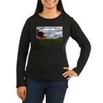 Boomershoot 2011 Women's Long Sleeve Dark T-Shirt