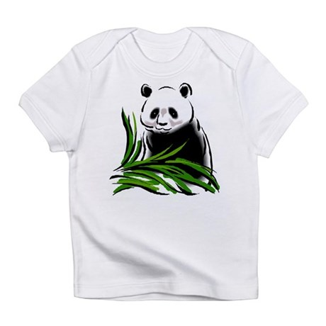 Hand Painted Panda Creeper Infant T-Shirt