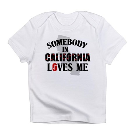 Somebody In California Creeper Infant T-Shirt