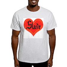 Love Slave Ash Grey T-Shirt