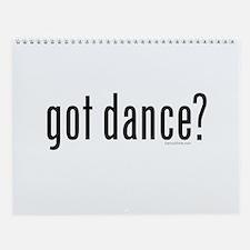 got dance? by DanceShirts.com Wall Calendar