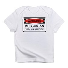 Attitude Bulgarian Infant T-Shirt