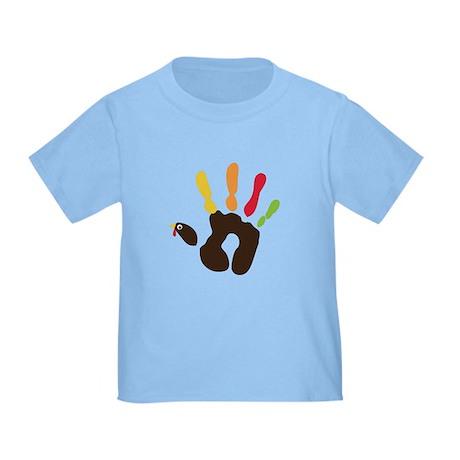 Turkey Hand Toddler T-Shirt