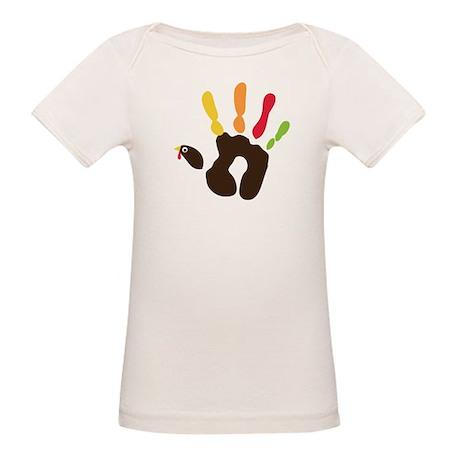 Turkey Hand Organic Baby T-Shirt