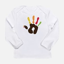 Turkey Hand Long Sleeve Infant T-Shirt