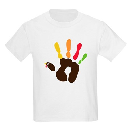 Turkey Hand Kids Light T-Shirt
