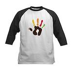 Turkey Hand Kids Baseball Jersey