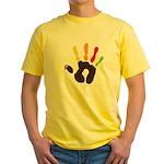 Turkey Hand Yellow T-Shirt