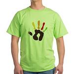 Turkey Hand Green T-Shirt