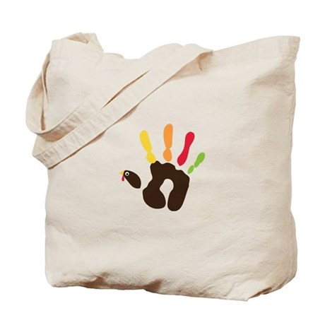 Turkey Hand Tote Bag