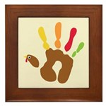 Turkey Hand Framed Tile