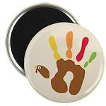 Turkey Hand Magnet