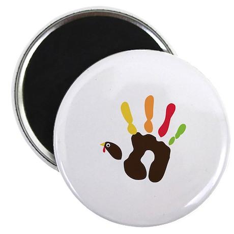 """Turkey Hand 2.25"""" Magnet (100 pack)"""