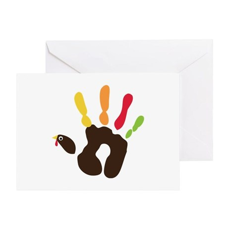 Turkey Hand Greeting Card