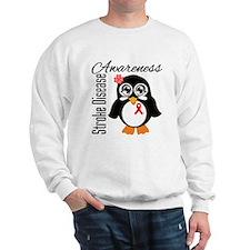 Penguin Stroke Awareness Sweatshirt