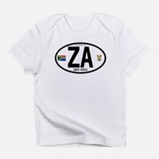 South Africa Euro-style Code Infant T-Shirt