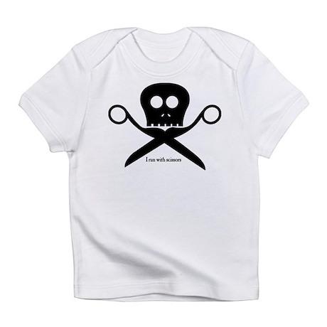 Craft Pirate Run With Scissors Creeper Infant T-Sh