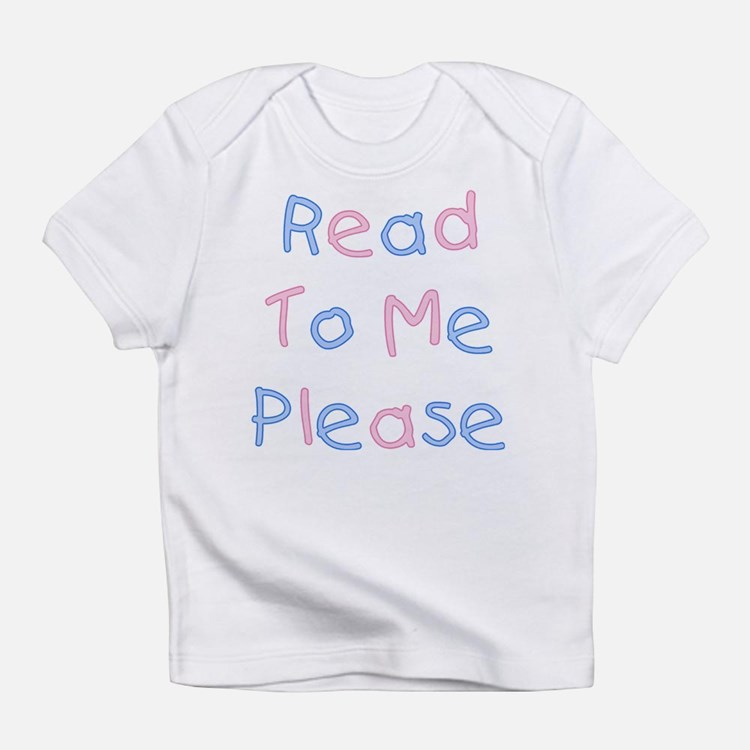 Read To Me-Pink & Blue<br> Infant T-Shirt