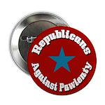 Republicans Against Pawlenty campaign button