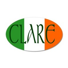 County Clare 20x12 Oval Wall Peel