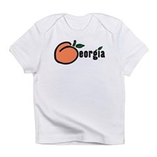 Georgia Peach Creeper Infant T-Shirt