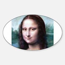 Cute Mona lisa Decal