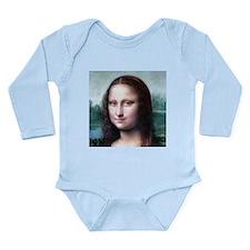 Funny Vinci Long Sleeve Infant Bodysuit