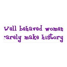 Women Make History 36x11 Wall Peel
