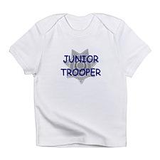 """""""JUNIOR TROOPER"""" Creeper Infant T-Shirt"""