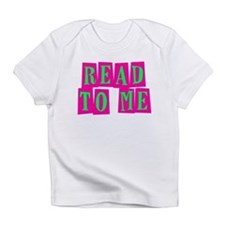 Pink & Green Read to Me Infant T-Shirt