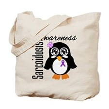 Penguin Sarcoidosis Tote Bag